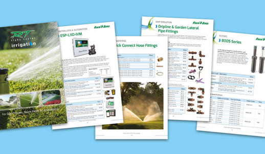 Irrigation catalogue