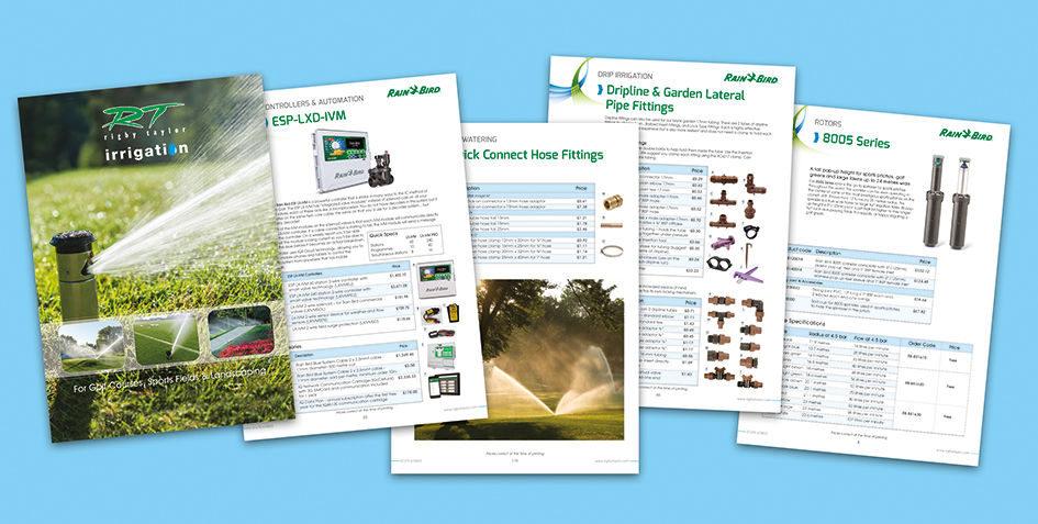 Irrigation catalogue