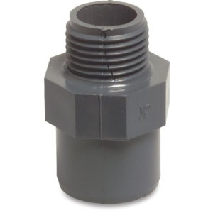 Imperial PVC Male Socket Adapters