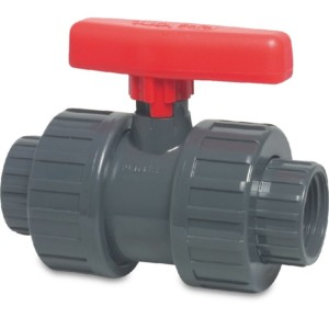 PVC Double Union Ball Valves