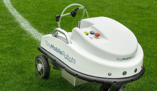 TinyLineMarker-Sport - Linemarking Robot